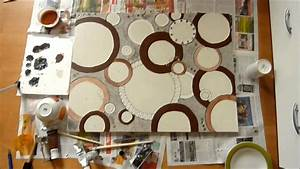 Leinwandbilder Selbst Gemalt : malen mit trixi acryl auf leinwand youtube ~ Orissabook.com Haus und Dekorationen