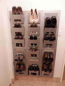 49 Ides Astuces Pour Le Rangement Des Chaussures