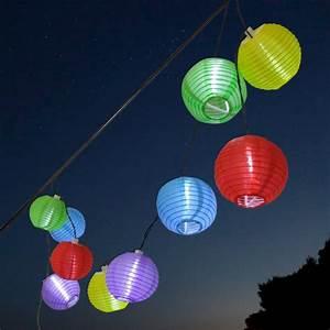 thomas philipps onlineshop solar lampion lichterkette With feuerstelle garten mit solar lichterkette balkon