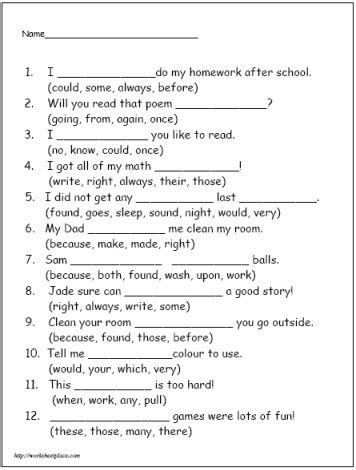 2nd grade worksheet category page 2 worksheeto