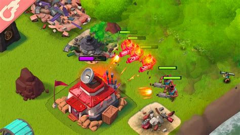 Boom beach low level attack strategy