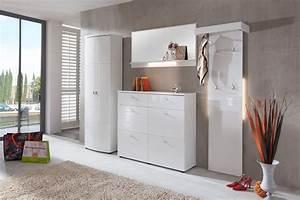Designer Garderoben Set : dreams4home garderoben set tavira 4 tlg garderobenprogramm flur opt beleuchtung wei ~ Indierocktalk.com Haus und Dekorationen