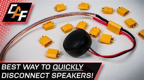 Quick Disconnect Speaker Wires Best Connector