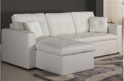 canapé simili cuir blanc canapé d 39 angle modulable et convertible 3 places blanc