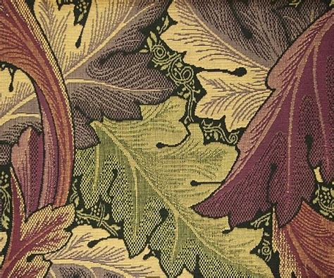 William Morris Upholstery Fabric by Acanthus Tapestry Upholstery Fabric An Iconic William