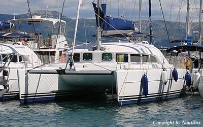 Catamaran Charter Hrvatska by Najam Katamarana Katamaran Charter Hrvatska