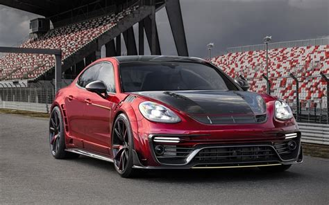 red porsche panamera 2017 download wallpapers porsche panamera mansory tuning