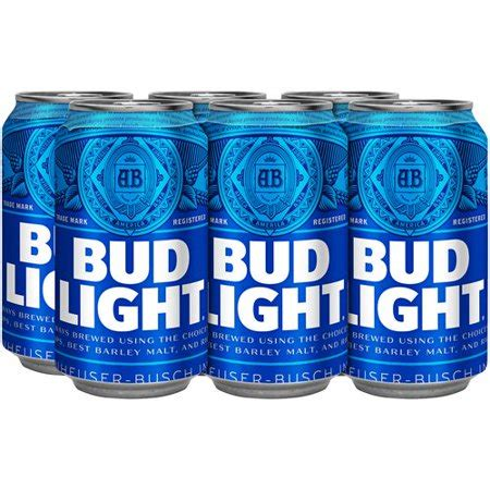 Bud Light 6 Pack by Bud Light 6 Pack 12 Fl Oz Walmart