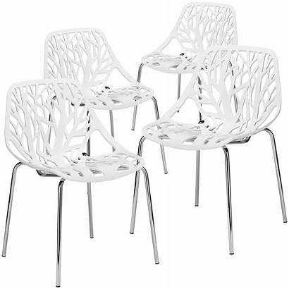 Poly Bark Nest Dining Chair Birds Side