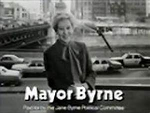 """Mayor Jane Byrne - """"This City Is Back"""" (Political Ad, 1983 ..."""
