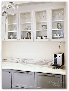 Upper cabinets with glass doors peenmediacom for Upper cabinets with glass doors