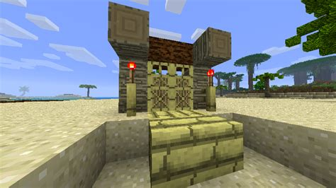 Tiki Hut Minecraft - tropicraft v6 0 tropical realm palm trees volcanoes