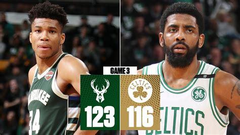 Celtics V Bucks Score
