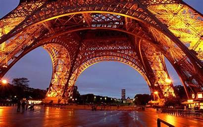 Eiffel Tower Paris Night France Lights Wallhaven