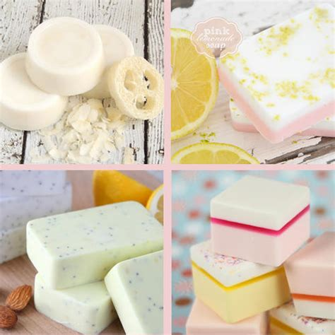 handmade diy macaron melt  pour soap tutorial soap