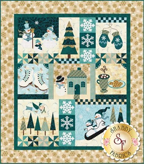shabby fabrics blessings blessings of winter pattern