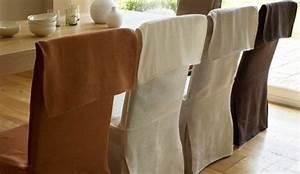 des housses de chaise pour un nouveau decor With housse pour chaises salle manger pour deco cuisine