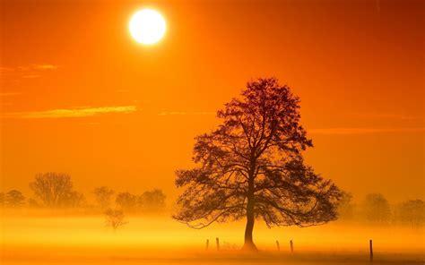 lever de soleil fond decran hd arriere plan
