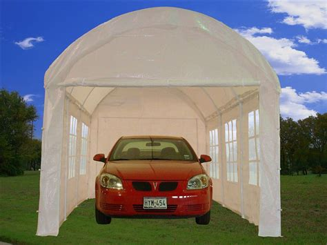 party tent canopy carport car shelter  walls cp white