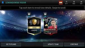FIFA 17 Mobile League Master 95 Over Lewandowski YouTube