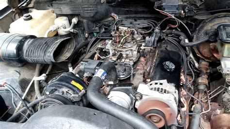 gm   complete engine tbi youtube