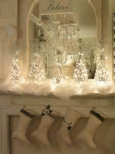 white christmas mantel decorations designcorner