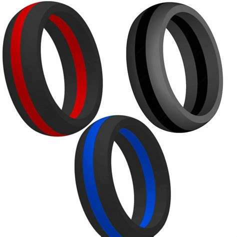 rubber ring wedding ring size 5 silicone rubber ring alternative fitness cross fit sports wedding band ebay