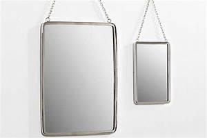 Miroir Rectangulaire Pas Cher : un miroir de barbier pas cher ~ Teatrodelosmanantiales.com Idées de Décoration