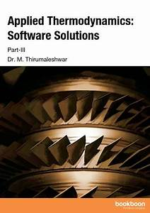 Applied Thermodynamics  Software Solutions