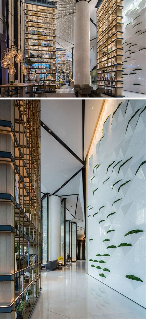 27 photos inside the new intercontinental beijing sanlitun hotel in china contemporist