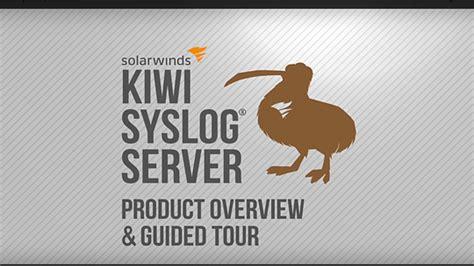 kiwi syslog server  edition solarwinds