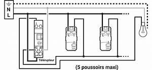 Branchement Variateur Legrand : schema branchement bouton poussoir lumineux legrand tuto ~ Melissatoandfro.com Idées de Décoration