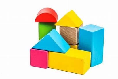 Toys Shapes Preschool Learning Blocks Building Using