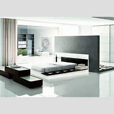 Modrest Impera Contemporary Lacquer Platform Bed Modern