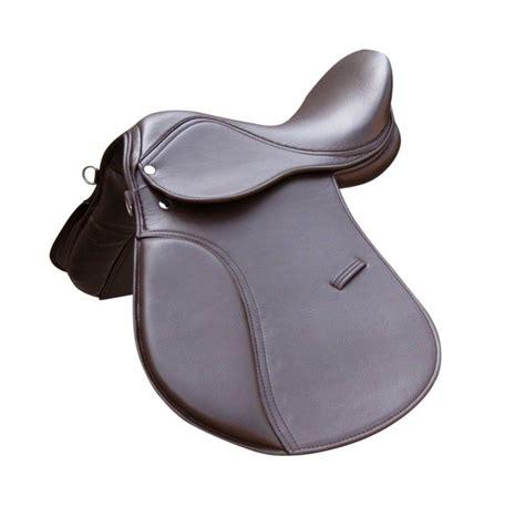 synthetic saddle halflinger horse saddles brand brown