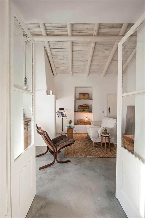 charming mediterranean bungalow house  rural southern