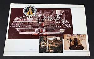 MOONRAKER (1979) - Signed Drax Space Station Cross Section ...