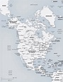 Printable Map Of American Continent | Printable US Maps