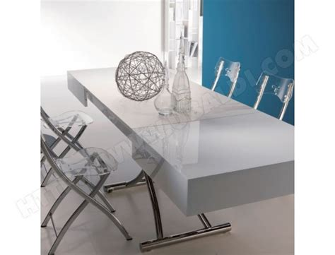 topper canapé table basse ozzio box table transformable pas cher