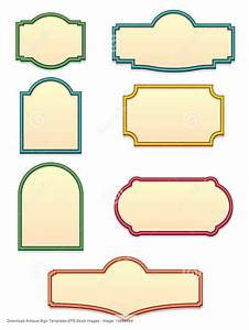 28 best sign shapes images on pinterest cool ideas With vintage sign templates free