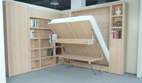 Murphy Bed Desk Combo Ikea by Really Cool Modern King Size Murphy Beds In Small Bedroom
