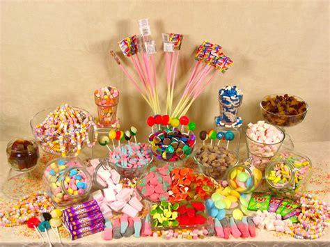 Small Candy Buffet