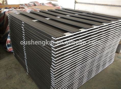 hnosk wpc factory  quality easy installation wpc fencewpc panelwood plastic composite