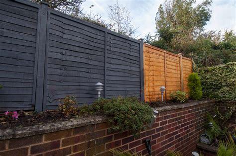 Bespoke Overlap Fence Panel Installation  Wood Newt