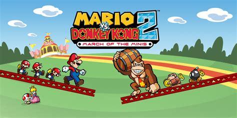 Mario Vs Donkey Kong 2 March Of The Minis  Nintendo Ds  Games Nintendo