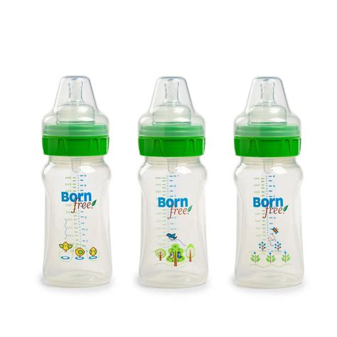 Orn Free Bpa Free Decorated Bottle 9 Oz 3 Pack From