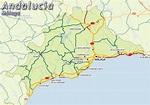 Malaga Tourism Map Region | Map of Spain Tourism Region ...