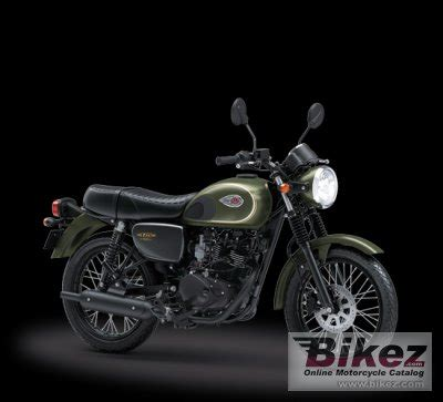 Kawasaki W175 Picture by 2018 Kawasaki W175 Se Specifications And Pictures