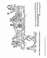 Coloring Parade Christmas Pages Float Sheets Floats Sheet Macy Children Cinderella Honkingdonkey Meaning Fun These Great sketch template