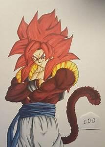 How to draw Super Saiyan God Goku (Step by Step Tutorial ...